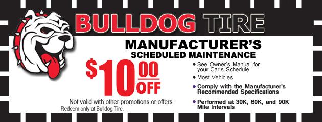 Manufacturers Scheduled Maintenance
