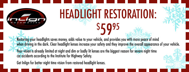 Winter Headlight Restoration Special