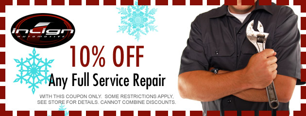 Winter Savings on Service