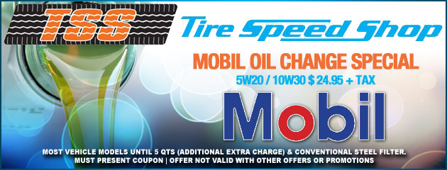 Mobile Oil Change Special