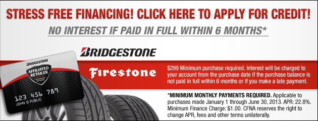 Bridgestone Firestone Credit App