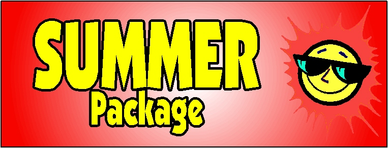 Tyre Trak - Summer Package