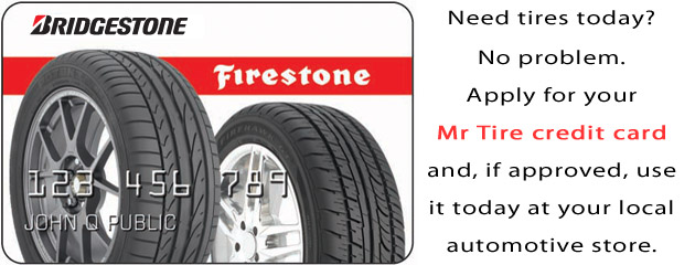 Bridgestone - Firestone credit cards