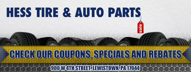 Hes Tire & Auto Parts Savings