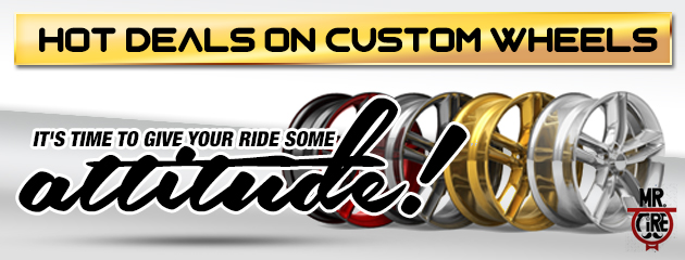 Hot Deals on Custom Wheels