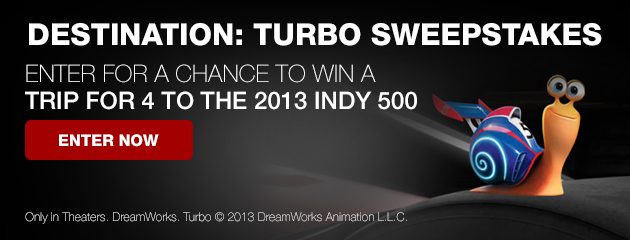 Destination: Turbo Sweepstakes