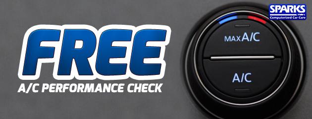 Free A/C Performance Check