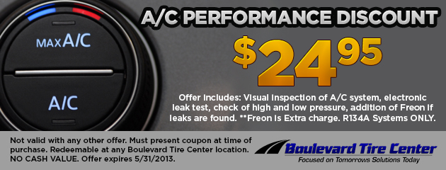 A/C Performance Discount