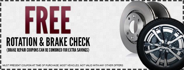 FREE Rotation and Brake Check