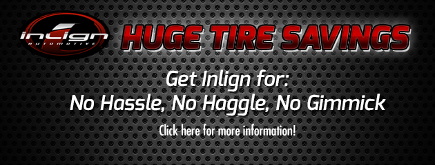 Huge Tire Savings
