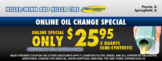 Oil Change Specials
