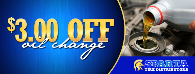 $3 off oil change