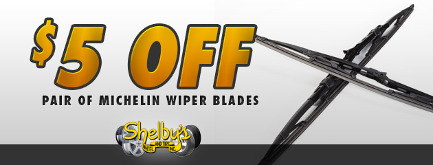 $5 Off Pair of Michelin Wiper Blades