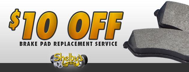 $10 Off Brake Pad Replacement Service