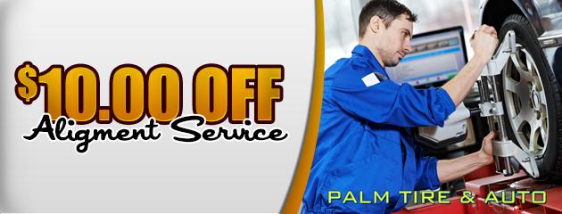 $10 off alignment service