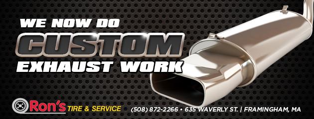Custom Exhaust Work