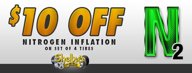 $10 off nitrogen inflation