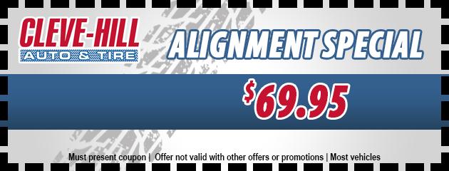 $69.95 Alignment Special