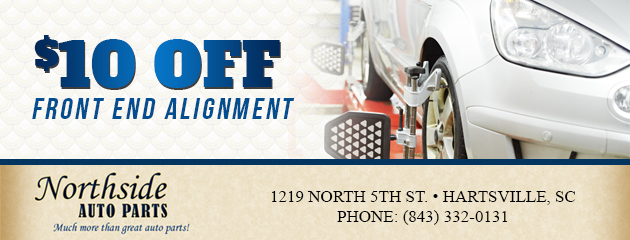 $10 Off Front End Alignment