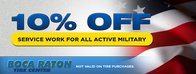 Active Military Discount