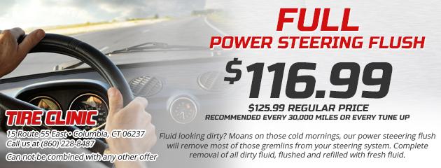 Full Power Steering Flush