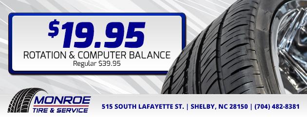 $19.95 Rotation & Computer Balance