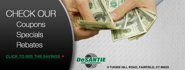 DeSantie Tire Company Savings