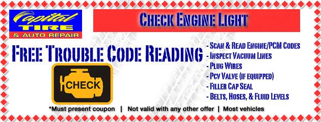 Check Engine Light Special