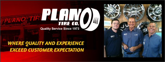 Welcome to Plano Tire Co
