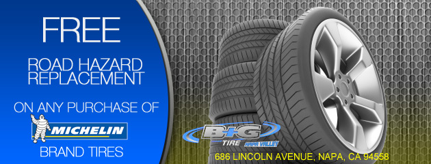 B and G Tire Road Hazard Replacement