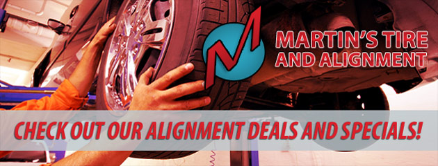 Martins Tire and Alignment Savings