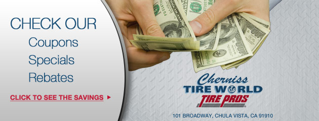 Cherniss Tire World Savings