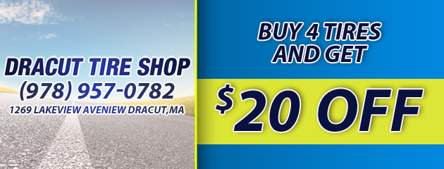 $20 Off Four Tires