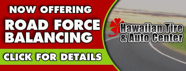 Road Force Balancing