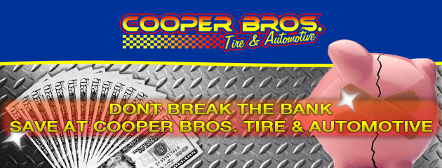 Cooper Bros Tire & Automotive Savings