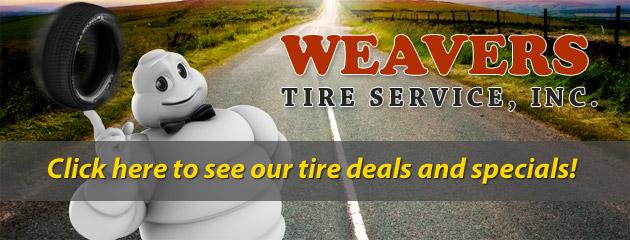 Weavers Tire Service Inc
