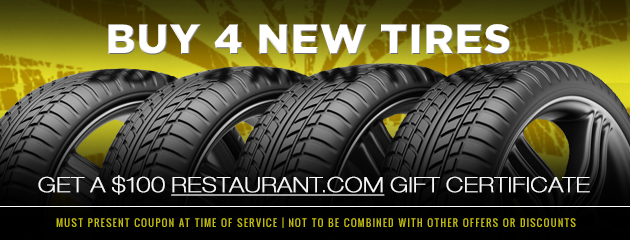 Buy 4 Tires Coupon