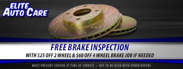 Free Brake Inspection