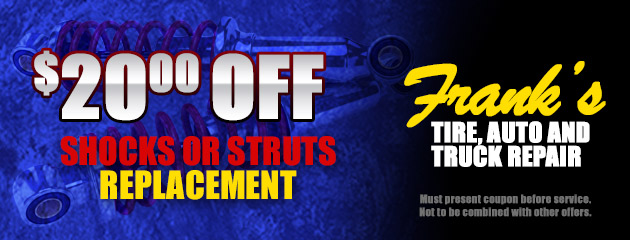 Shocks and Struts Coupon