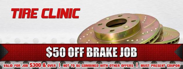 Tire Clinic Brake Job