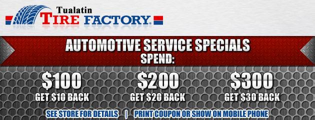 Automotive Service Special