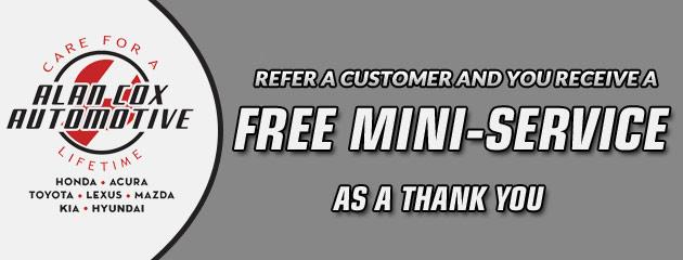 Refer a Customer