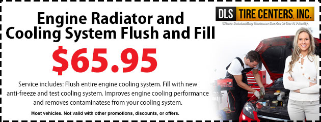 Engine Radiator and Cooling System Flush and Fill