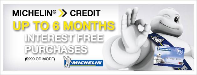 Michelin Credit Card