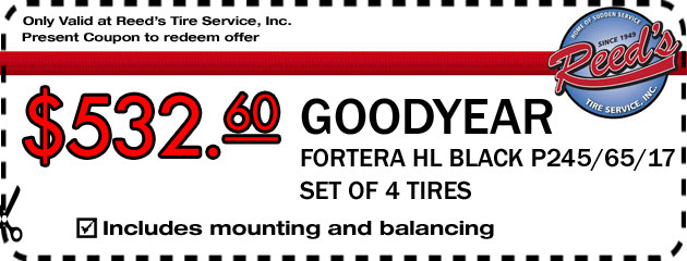 Goodyear Tire Deal