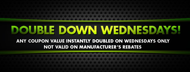 Double Down Wednesdays