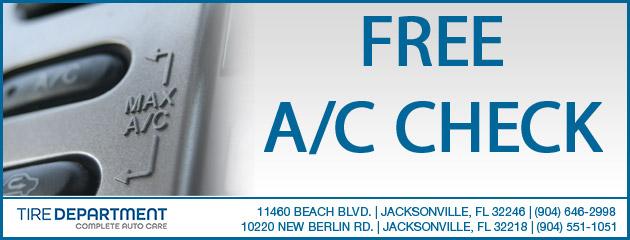 Free A/C Check
