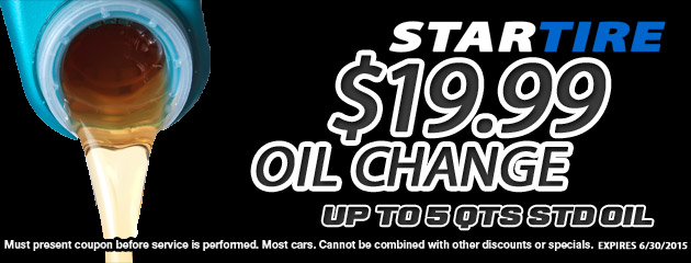 $19.99 Oil Special