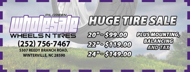 Huge Tire Sale!