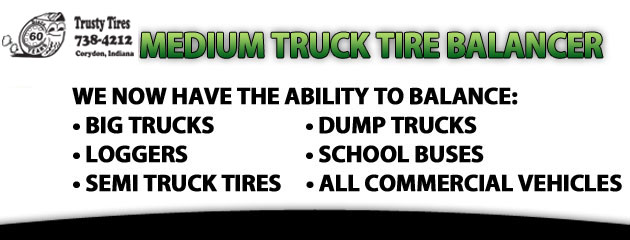 Medium Truck Tire Balancer